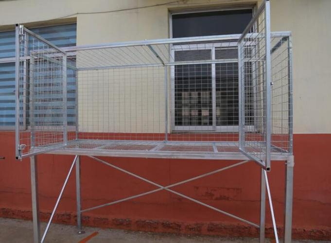 Over car bonnet garage storage cage product center rizhao for Over car garage storage